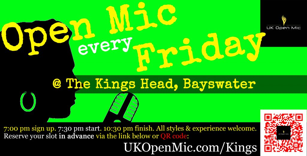 UK Open Mic at The Kings Head
