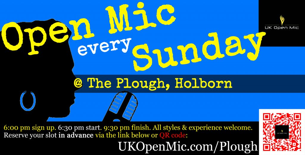 UK Open Mic at The Plough